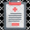 Hospital Report Icon