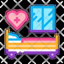 Hospital Room Icon