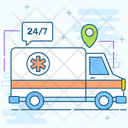 Hospital Services Emergency Ambulance Emergency Services Icon