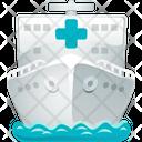 Hospital Ship Icon