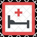 Hospital Sign Health Icon