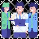 Hospital Staff Icon