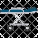 Hospital stretcher Icon