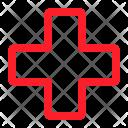 Cross Health Medical Icon
