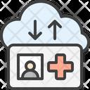 Sync Card Cloud Icon