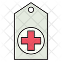 Tag Hospital Emergency Icon