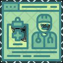 Hospital Website Website Doctor Icon