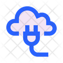 Cloud Power Supply Electricity Icon