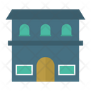 Hostel Apartment Building Icon