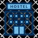 Motel Hostel Travel Icon