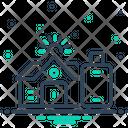 Hostel Dorm Dormitory Icon