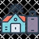 Hostel Luggage Dorm Icon