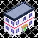 Hostel Building Icon