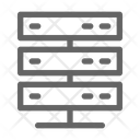 Hosting Server Networking Icon