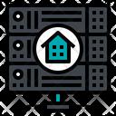 Hosting Server Home Icon