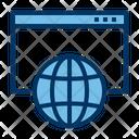 Hosting Web Internet Icon