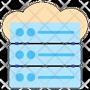 Hosting Server Database Icon