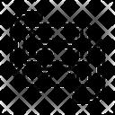 Hosting Database Network Icon