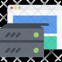 Hosting Analysis Business Icon