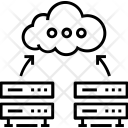 Hosting and Database Icon