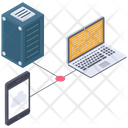 Hosting Data Devices Icon