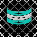 Hosting database Icon