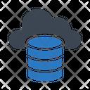 Hosting Cloud Database Icon