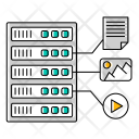 Hosting File Equipment Icon