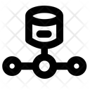 Hosting Storage Web Icon