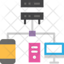 Hosting Server Server Hosting Network Icon
