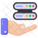 Data Hosting Hosting Services Database Hosting Icon