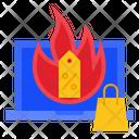 Hot Sale Discount Icon