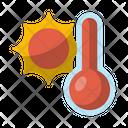Heat Hot Sun Icon
