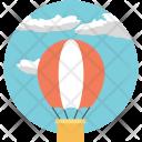 Sightseeing Balloon Air Icon