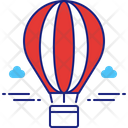 Hot Ballon Air Balloon Parachute Balloon Icon