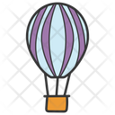 Hot Air Balloon Air Balloon Parachute Balloon Icon