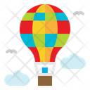 Hot Air Balloon Icon