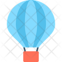 Hot Air Balloon Flight Adventure Icon