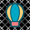 Hot Air Baloon Air Transportation Icon