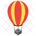Hot Air Balloon Adventure Flight Icon