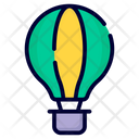 Air Balloon Fire Balloon Adventure Icon