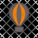 Balloon Air Aircraft Icon