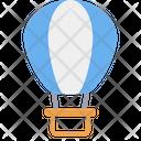 Air Balloon Hot Balloon Transport Icon
