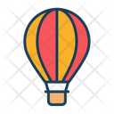 Air Balloon Travel Icon