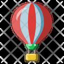 Hot Air Balloon Flight Icon