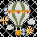 Hot Air Balloon Balloon Trip Icon