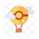 Transport Balloon Fly Icon