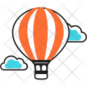 Balloon Fly Travel Icon