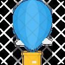 Hot Balloon Air Balloon Transportation Icon