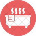 Hot Bath Sauna Sauna Bathtub Icon